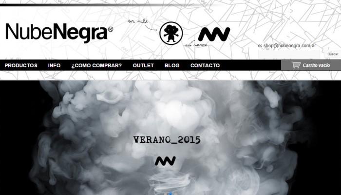 Testimonio de la tienda online Nube Negra