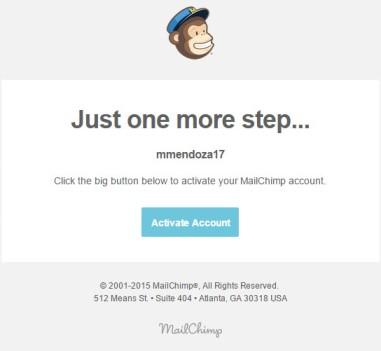 Cómo activar tu cuenta de Mailchimo
