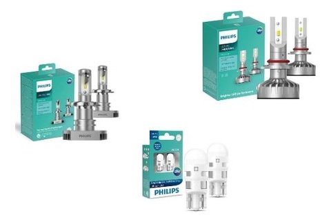 Kit Super Led Philips Ultinon H4 Hb4 T10