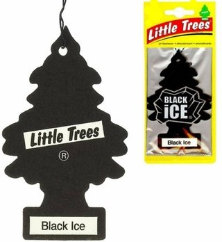 Aromatizante Black Ice Automotivo Little Trees Pinheiro