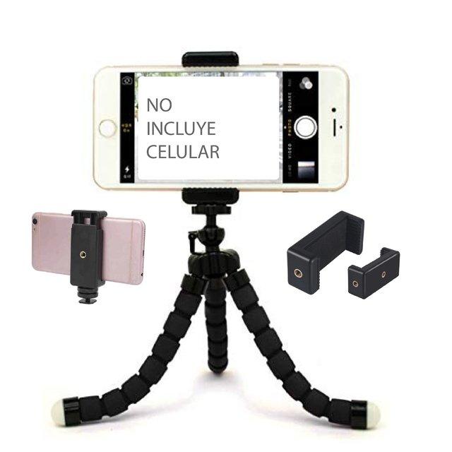 Tripode camara fotos y video flexible articulado universal