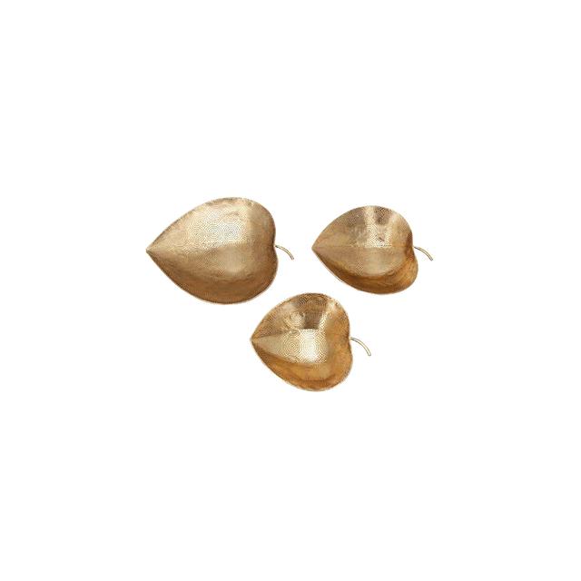 OakTree Caja de Fiesta Oro met/álico 24.6 x 20.3 x 1.8 cm Papel