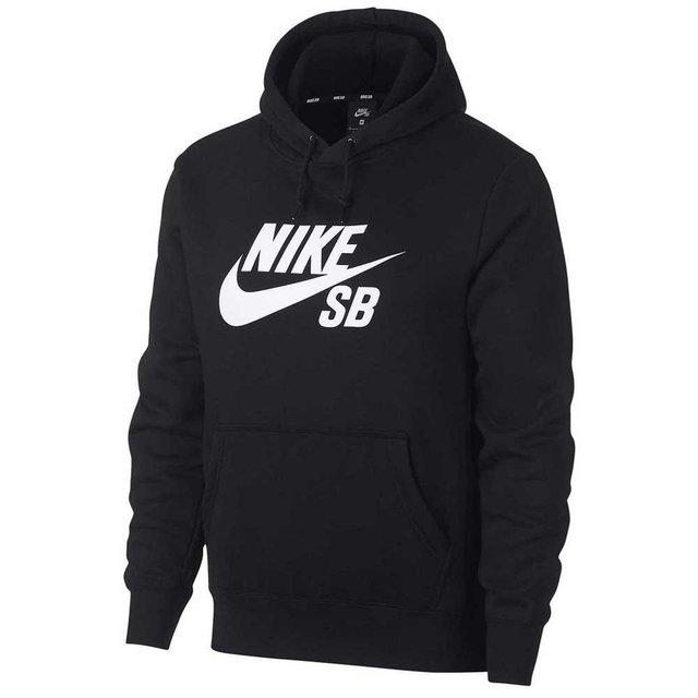 Buzo Nike Sb Icon Negro Blanco
