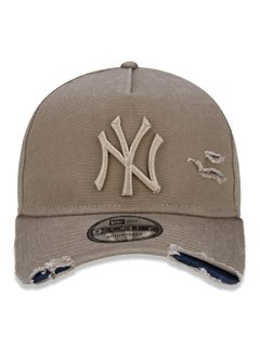 Boné New Era MLB New York Yankees Kaki MBI19BON113 - comprar online