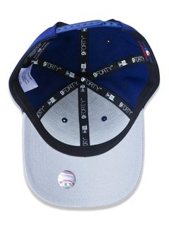 Boné New Era 9Forty MLB Los Angeles Dodgers Azul MBPERBON397 - loja online