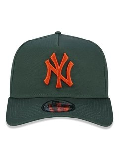 Boné New Era 9Forty MLB New York Yankees Verde MBV19BON152 - comprar online