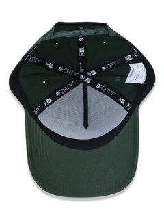Boné New Era MLB 9Forty New York Yankees Verde MBV19BON152 - loja online