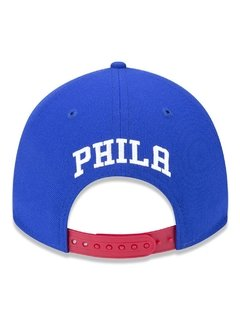 Boné New Era 9Forty NBA Philadelphia 76ers Azul NBV18BON389 - newera