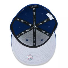Boné New Era 59Fifty MLB New York Yankees Azul NEPERBON036 - loja online