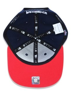 Boné New Era 9Fifty NFL New England Patriots Azul NFI16BON017 - loja online