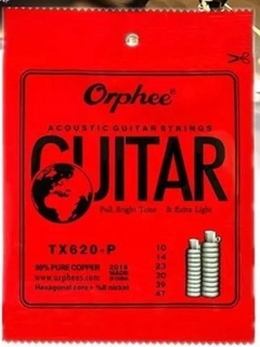 Orphee Strings Tx 620-p Acustica Guitarra Strings
