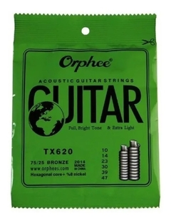 Orphee Strings Rx 17 Electrica Guitarra Strings