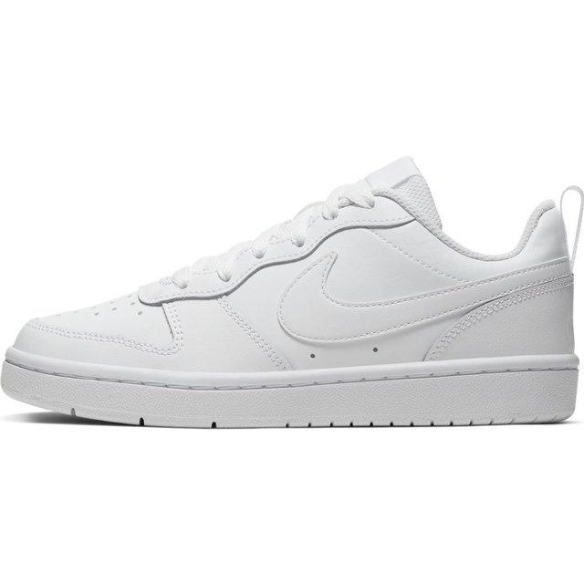 Zapatilla Court Borough Low 2 Gs Blanco Nike