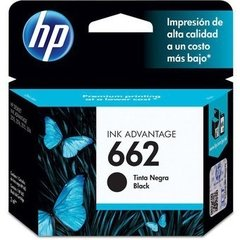 HP 662 BLACK INK CARTRIDGE