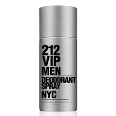CAROLINA-HERRERA  Desodorante Spray 212 Vip Men Masculino 150ml