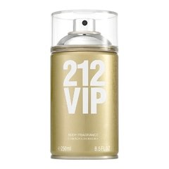 Body Spray Carolina Herrera 212 Vip 250ml