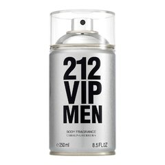 Body Spray Carolina Herrera 212 Vip Men 250ml