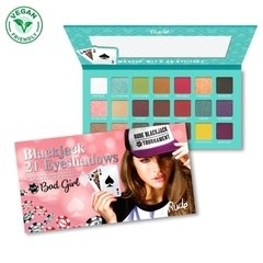 Paleta De 21 Sombras Blackjack Bad Girl Rude Cosmetics