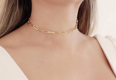 Chocker Cartier Dourada P
