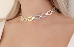 Chocker Elos Colorida