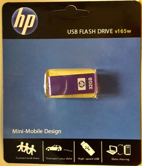 Pendrive 32 Gb Hp 32gb Usb Pc Notebook Consolas Impresoras
