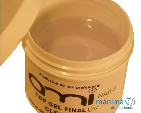 Gel Final (top finish) sellador secado UV