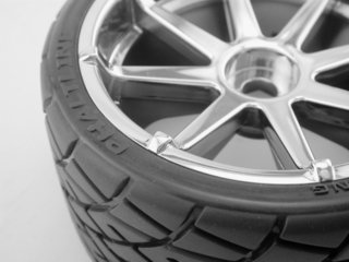 HPI #4729 MOUNTED PHALTLINE TIRE