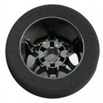 1/8 ON-ROAD REAR CARBON SOFT RIMS