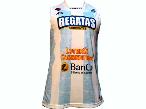 Camiseta A'S Regatas Corrientes alternativa 2016/17