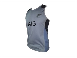 Musculosa Imago All Blacks Gris