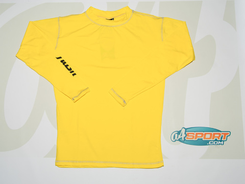Remera térmica manga larga Flash amarilla