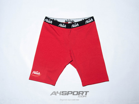 Calza Spandex FLASH rojo