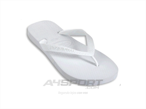 Ojotas Havaianas color blanco en internet