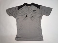 Camiseta de rugby IMAGO All Blacks gris