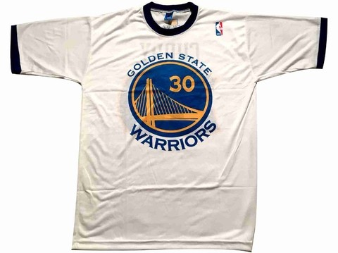 Remera A'S NBA Golden State Warriors CURRY