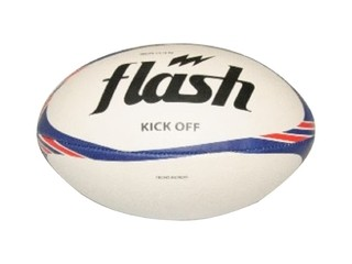 Pelota de rugby  FLASH Kick Off azul/rojo