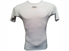 Remera térmica Flash manga corta blanco