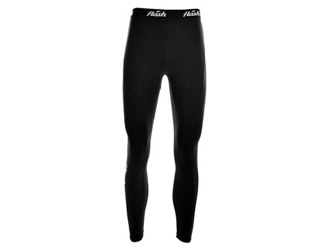 Calza FLASH running larga negro - comprar online