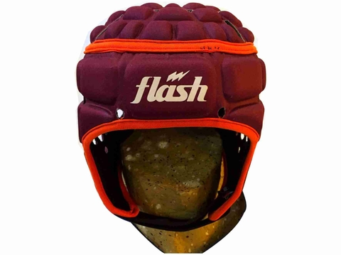 Casco protector FLASH Extreme bordó - comprar online