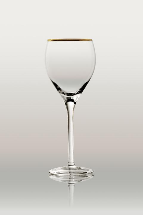 Copa emperador lisa con oro para agua for Copa de agua
