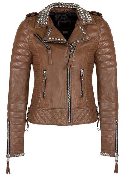 Resultado de imagen para chaqueta de cuero mujer