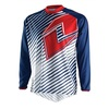 Jersey One Industries Atom Lines Navy/Red 50141-046 - comprar online