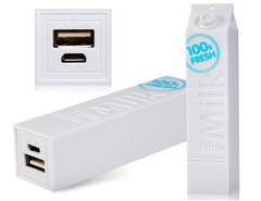 Power Banks Milk 2600 MAH