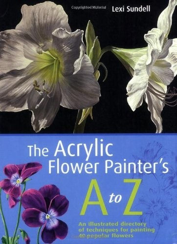 Acrylic Flower Panter's A to Z
