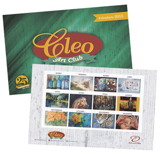NUEVO CALENDARIO 2015 - CLEO ART CLUB 25º Aniversario