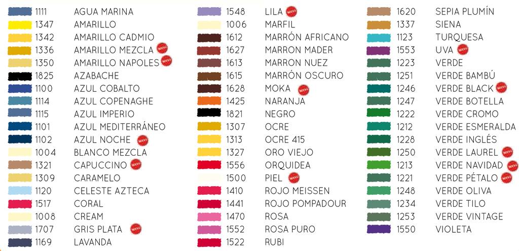 Pigmentos para porcelana arts and crafts nuevos colores for Como hacer color verde