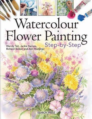 Watercolour Flower Painting - Step by Step