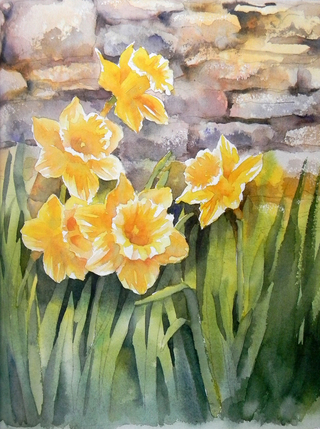 Watercolour Flower Painting - Step by Step - comprar online