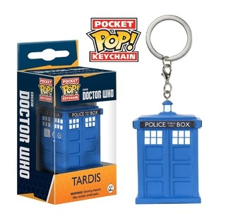 Doctor Who - Llavero Funko POP Tardis
