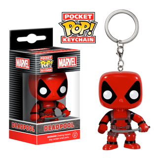 Deadpool: Deadpool llavero Funko POP